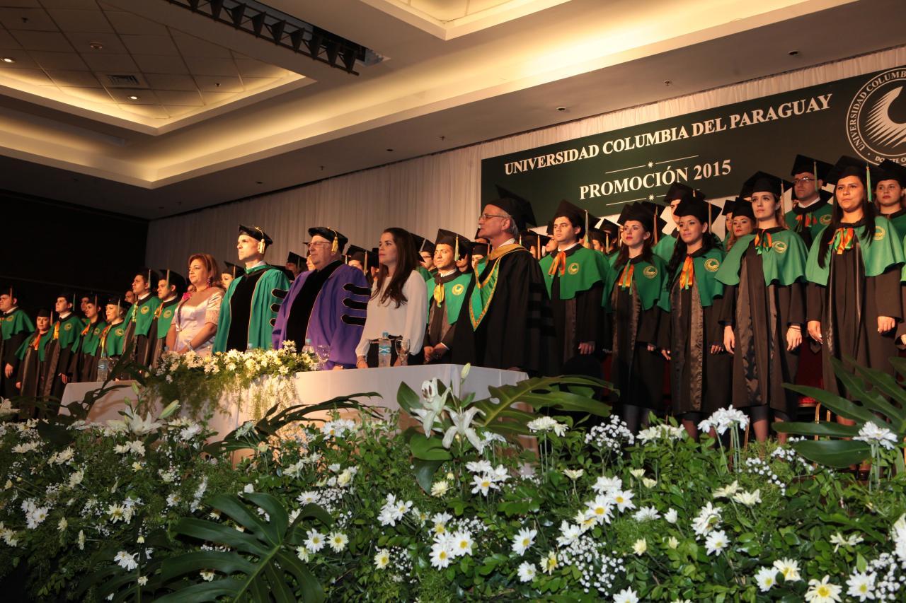 Así fue la graduación de la promoción 2015, sede 25 de Mayo