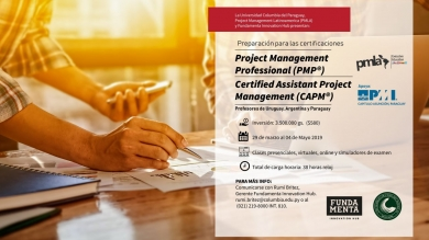 Certificaciones Project Management Professional y Certified Assistant Project Management