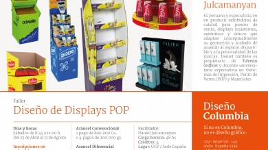 Diseño de Displays POP (Punto de venta) / CULMINADO