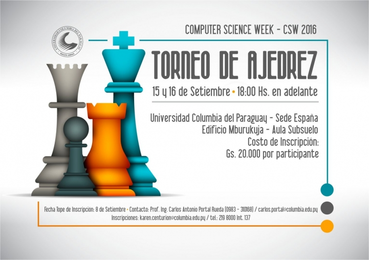 Invitación al Computer Science Week 2016